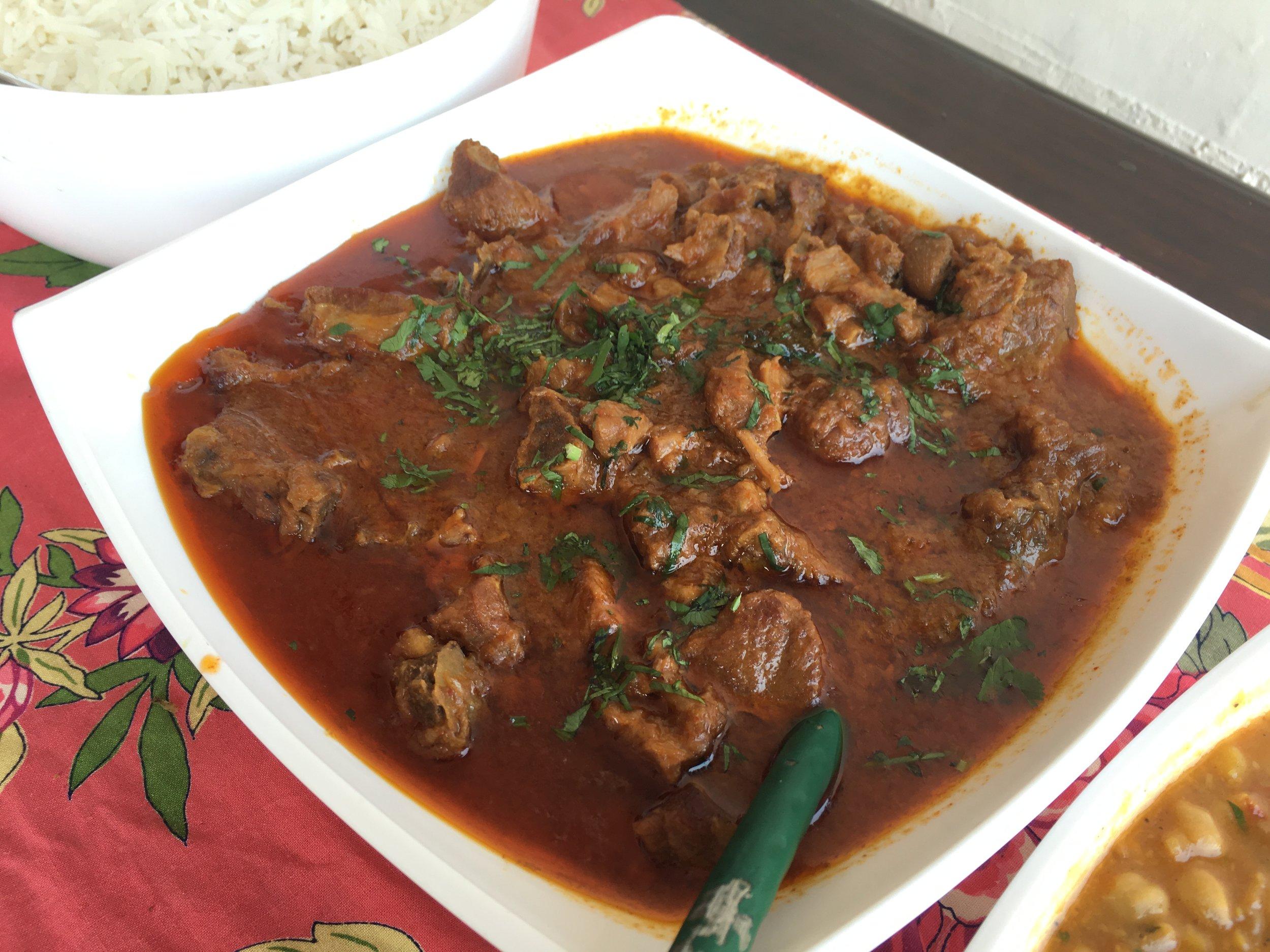 Mutton curry at Shaheen Bagh Dehradun