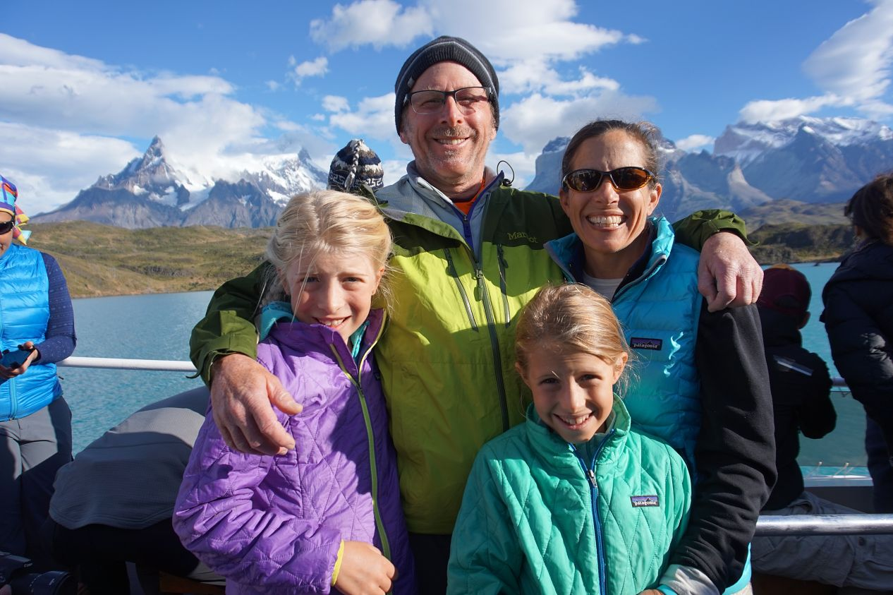 """Craig Plocica - Craig Plocica and his two daughters traveled for a school year in '16/'17. His girls were in fourth and fifth grades. He and his wife Sheryl decided to heed Mark Twain's words–don't let school get in the way of a good education. Sheryl joined RoadSkool frequently on the road, but did not join the trip because as she says, """"The Visa bills just keep coming."""""""