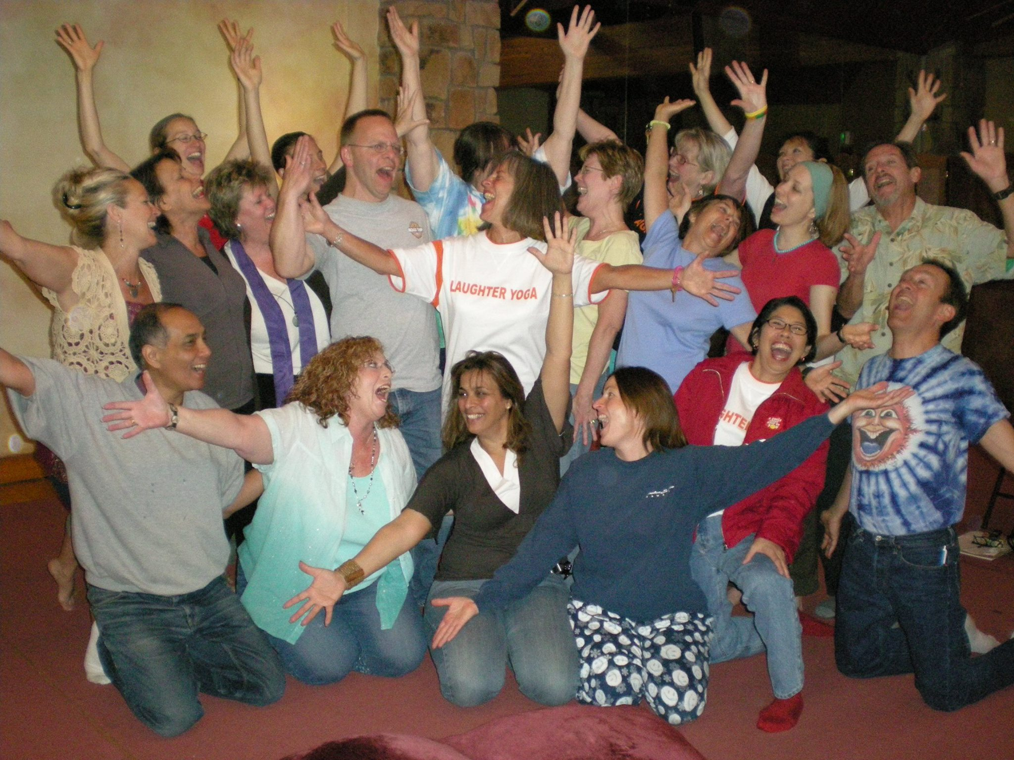 My Certified Laughter Yoga Teacher Training - April 2008, Harbin Hot Springs, CA