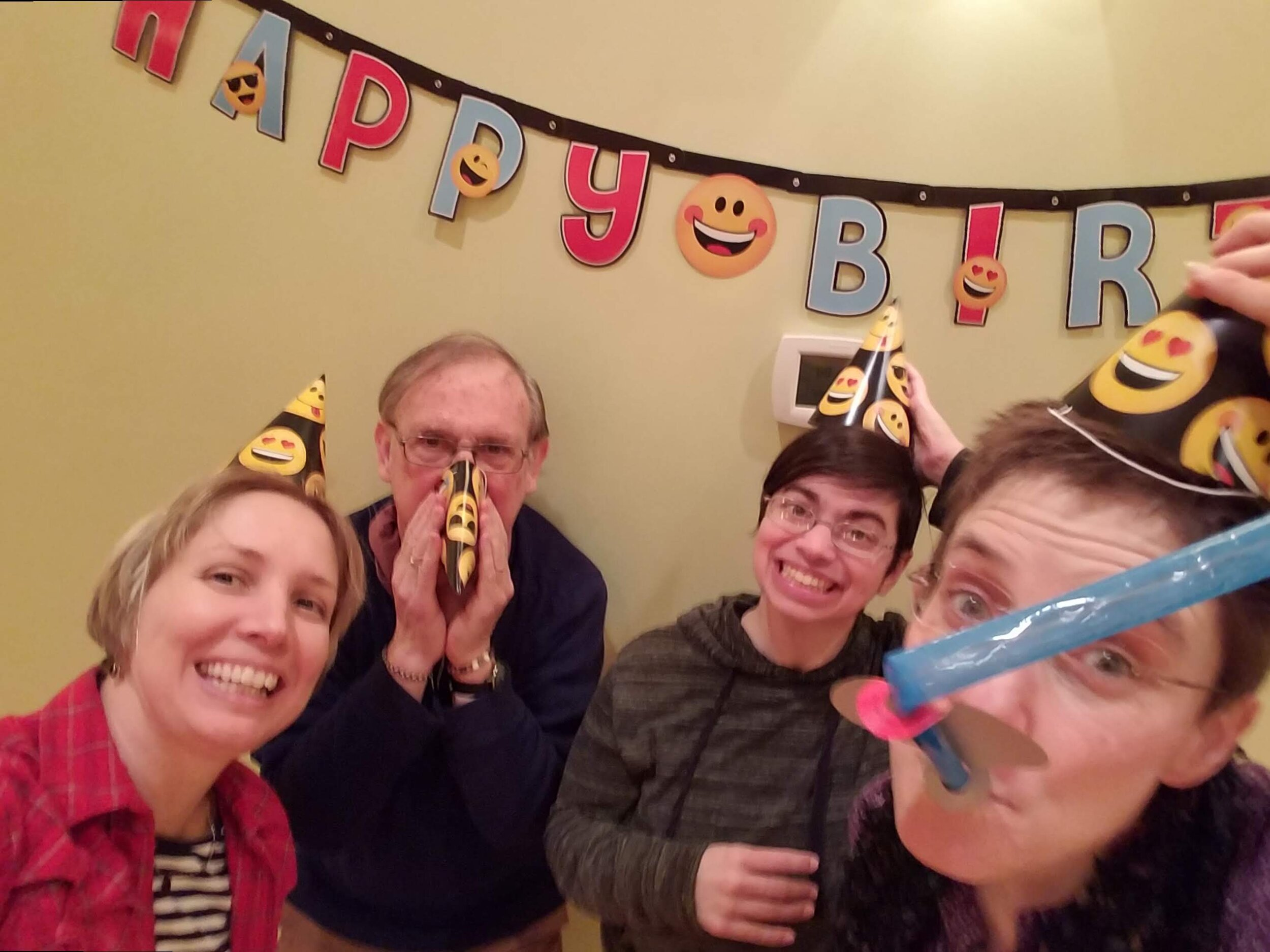 Celebrating 8 yrs of the Hawthorne Club - Jan. 2018