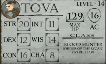 Vox Machina Character Stats Critrolestats On alpha they showed things like visual effects for attacks or live stats and hp totals of the players. vox machina character stats