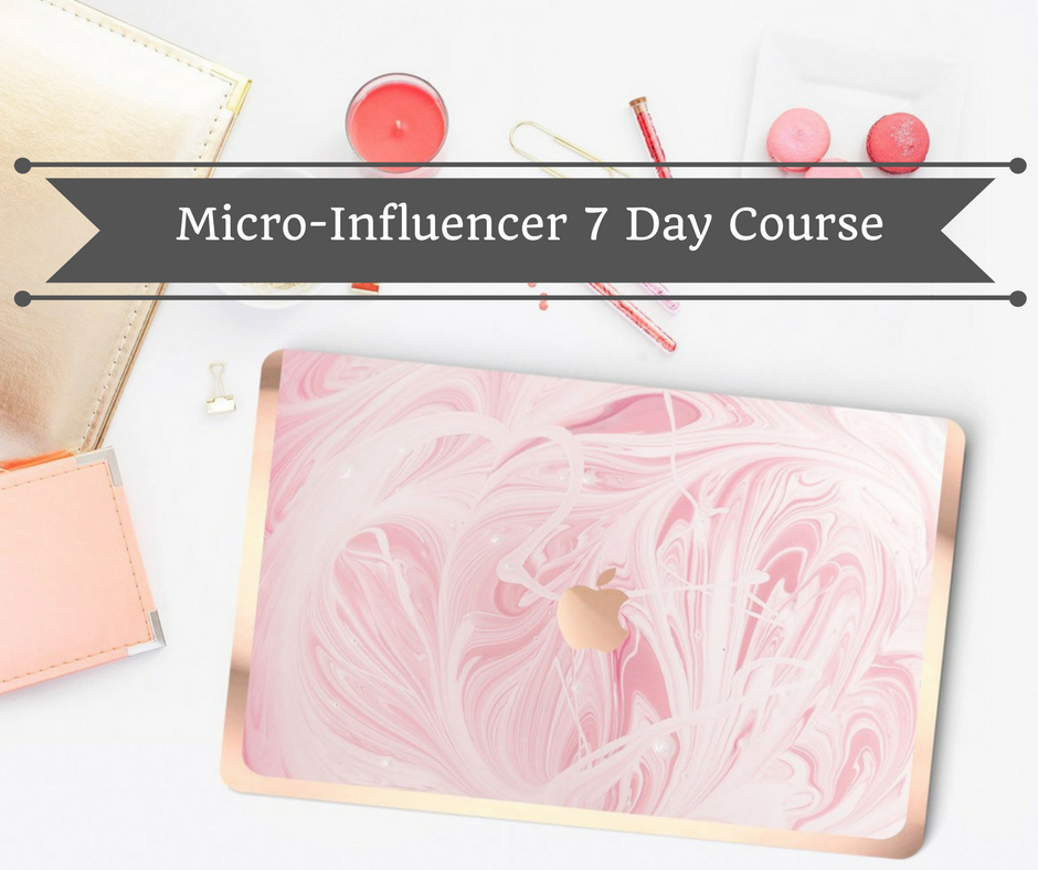 Micro-Influencer 7 Day Course - Do you want to Get Paid to Post online as a Micro-influencer?Are you an Online Entrepreneur or Small Business Owner looking to grow your influence on Instagram but you are unsure of where to start and just want to