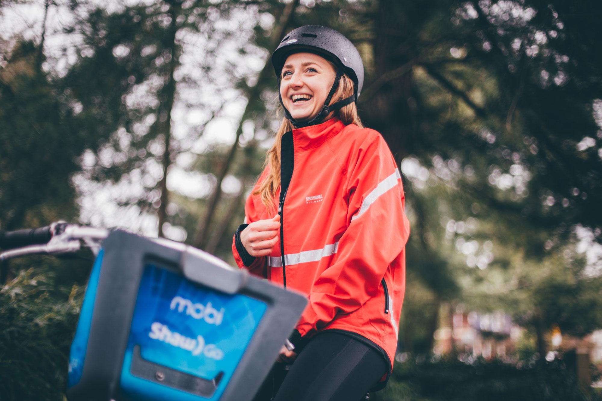 Mobi Bikes x Running Room -