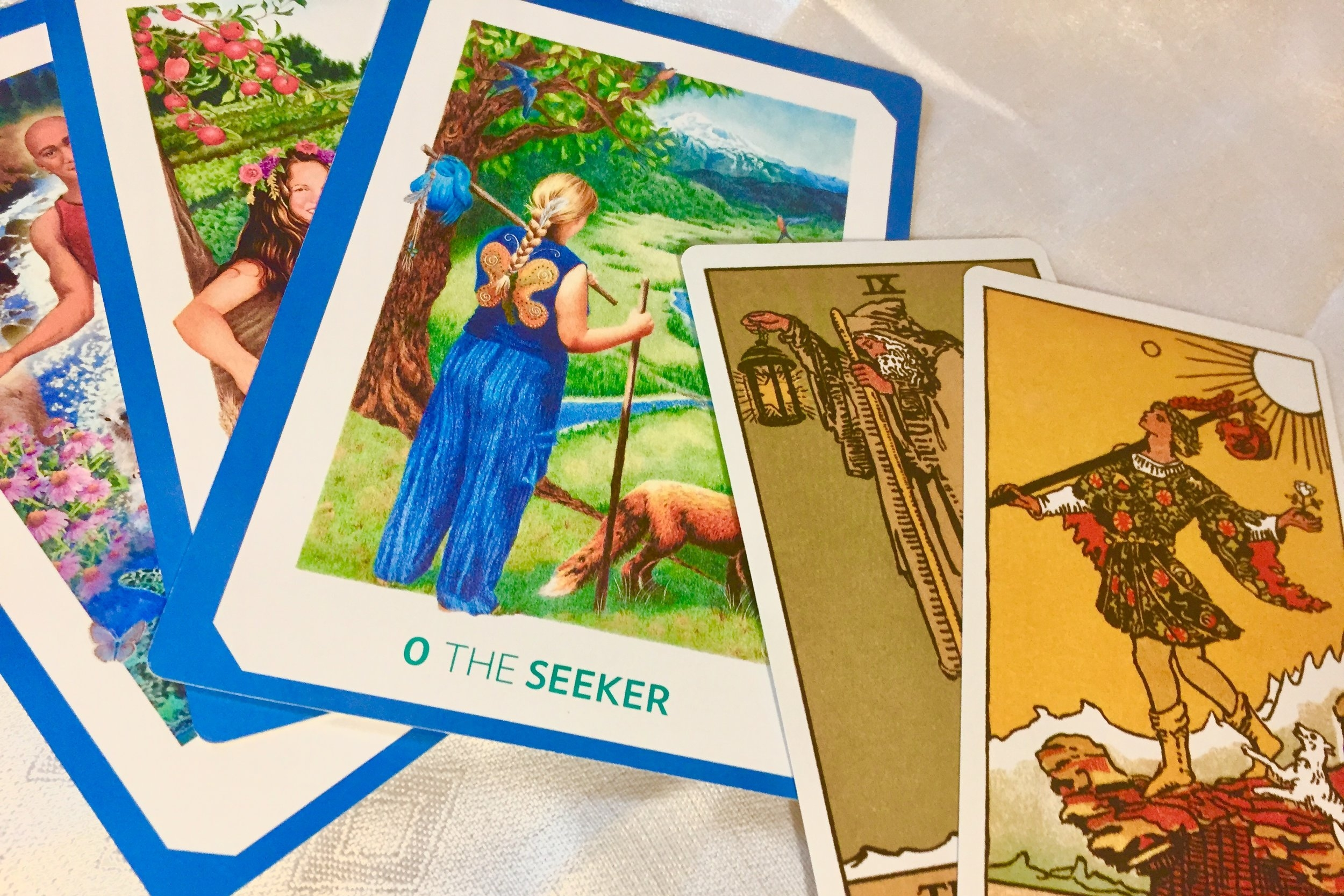 Tarot   Have a specific question you'd like to address? See what the ancient wisdom of the tarot has to offer.   Go to Tarot Page →