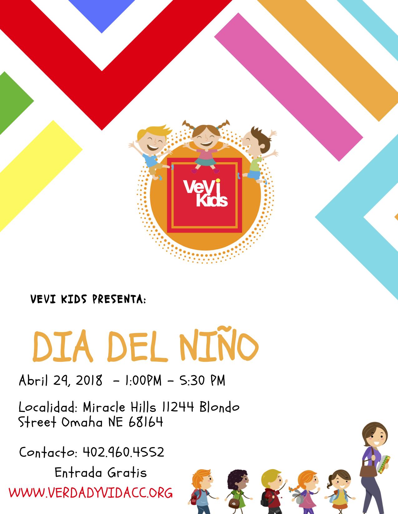 Te invitamos a que nos acompañes a celebrar el día del niño este 29 de Abril. Sera un tiempo de aprender y diversion para cada familia. Te esperamos no te lo pierdas.