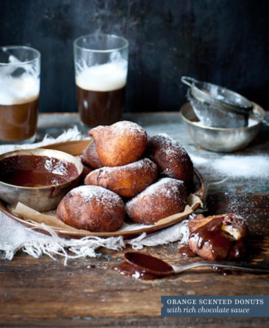 recipe orange scented donuts