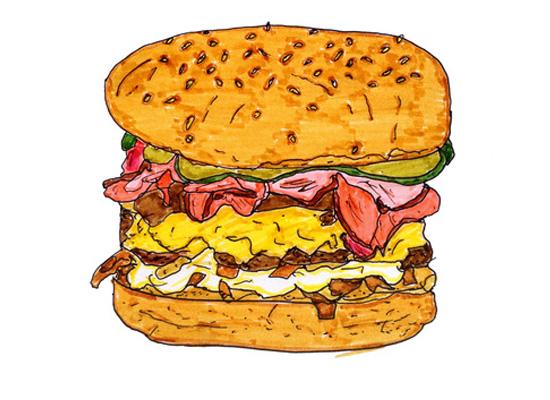 good food_ illustration