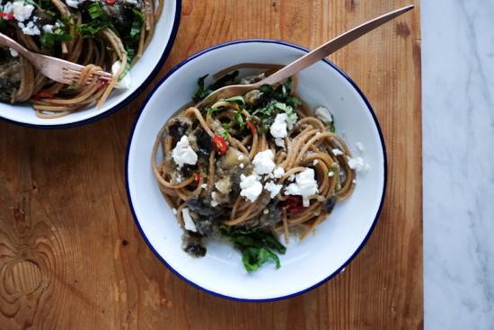 Recipes_eggplant wholemeal spaghetti-3
