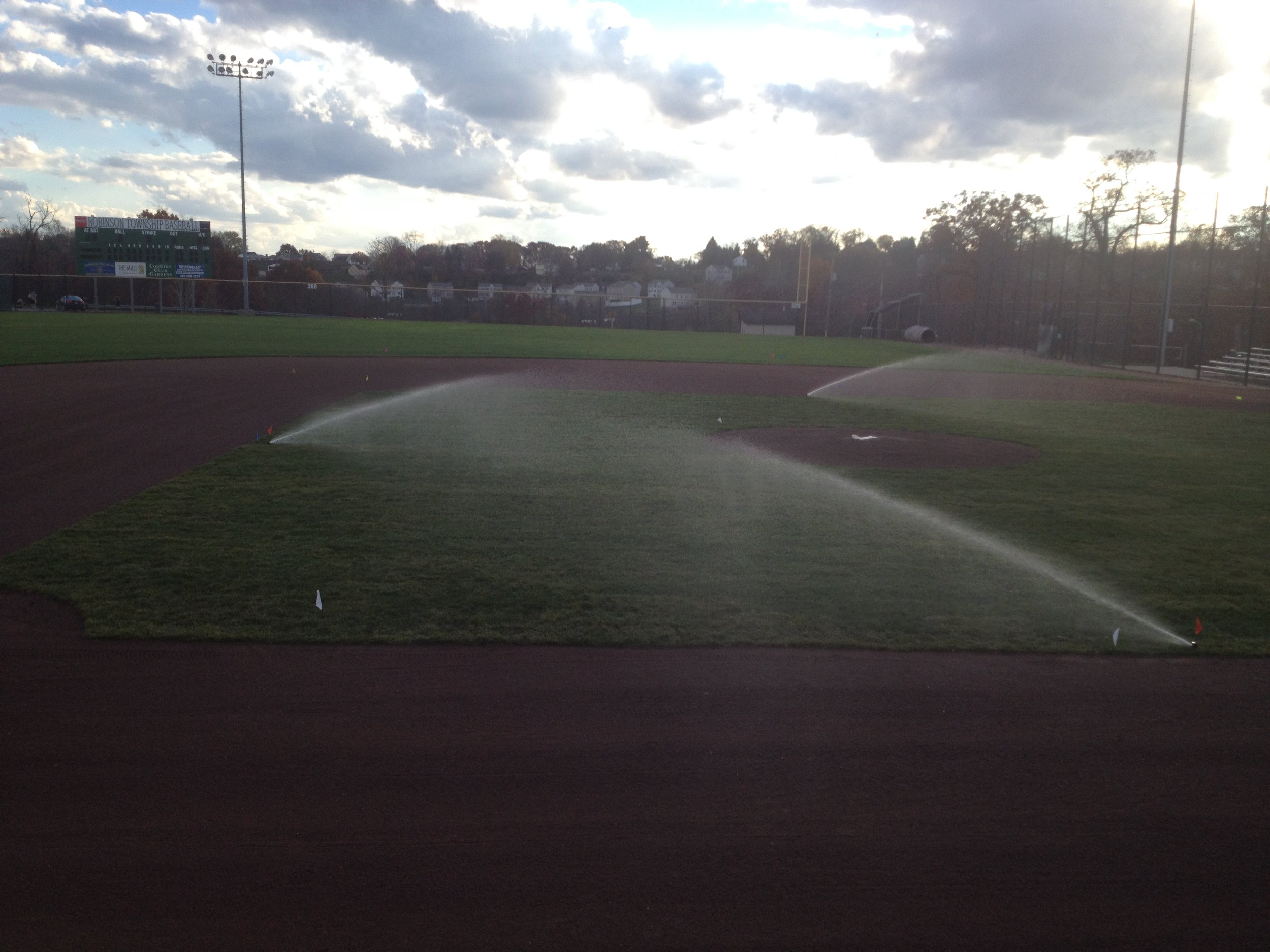 Ball Field Sprinklers.JPG