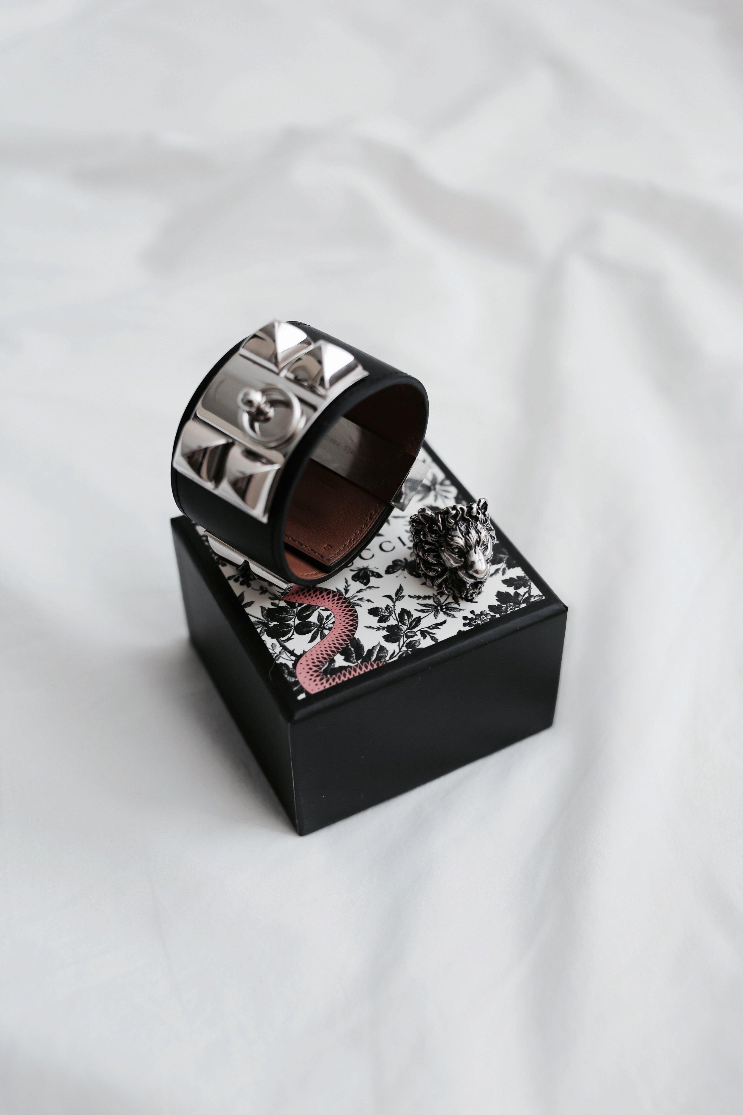 Hermes CDC & Gucci Lion Ring
