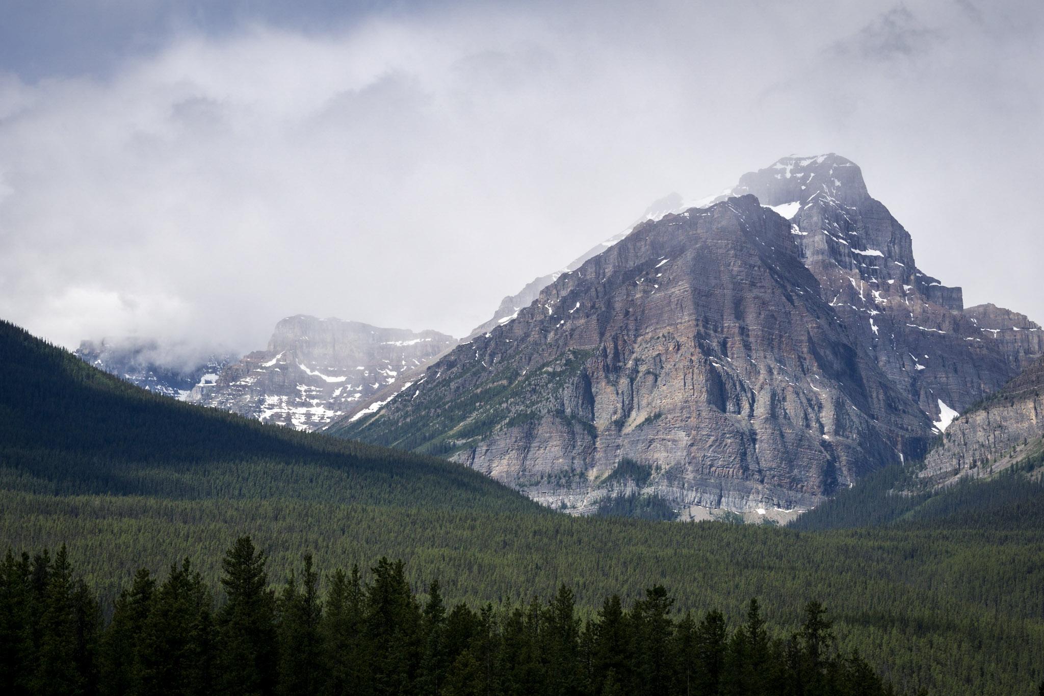 Passing Storm, Banff National Park, Alberta, Canada