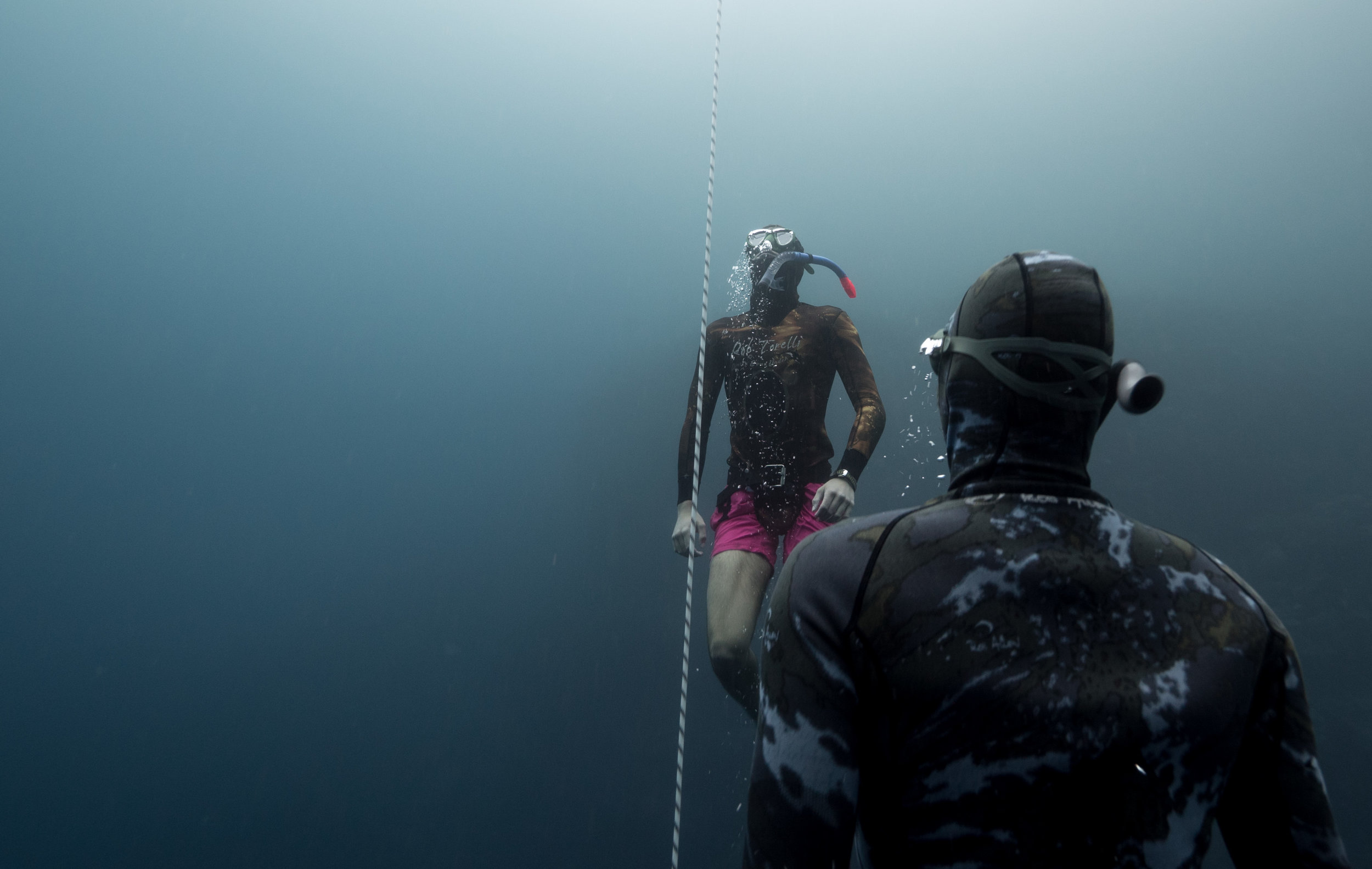 Freedive training