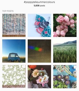 Lana Lepper - I am in love with Poppytalk's Spring Color Instagram Collaboration!