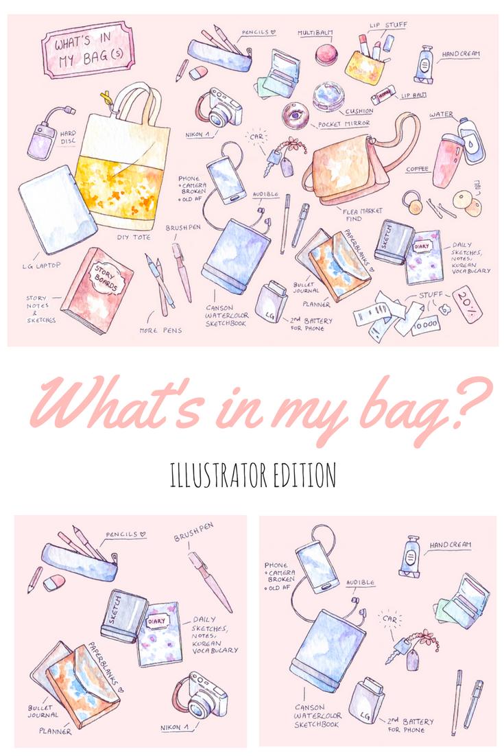 whatsinmybag-wimb-illustrator-creativelife