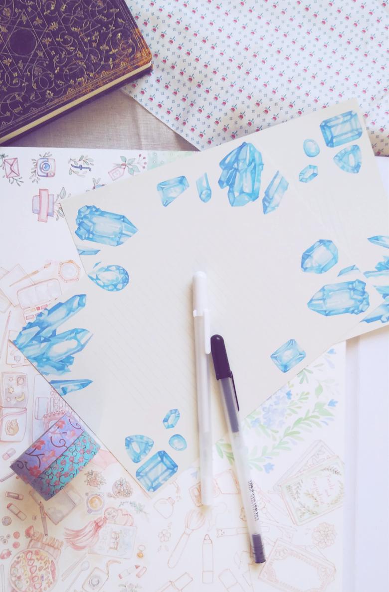 letterpaper-printable-aquamarine-watercolor-crystals