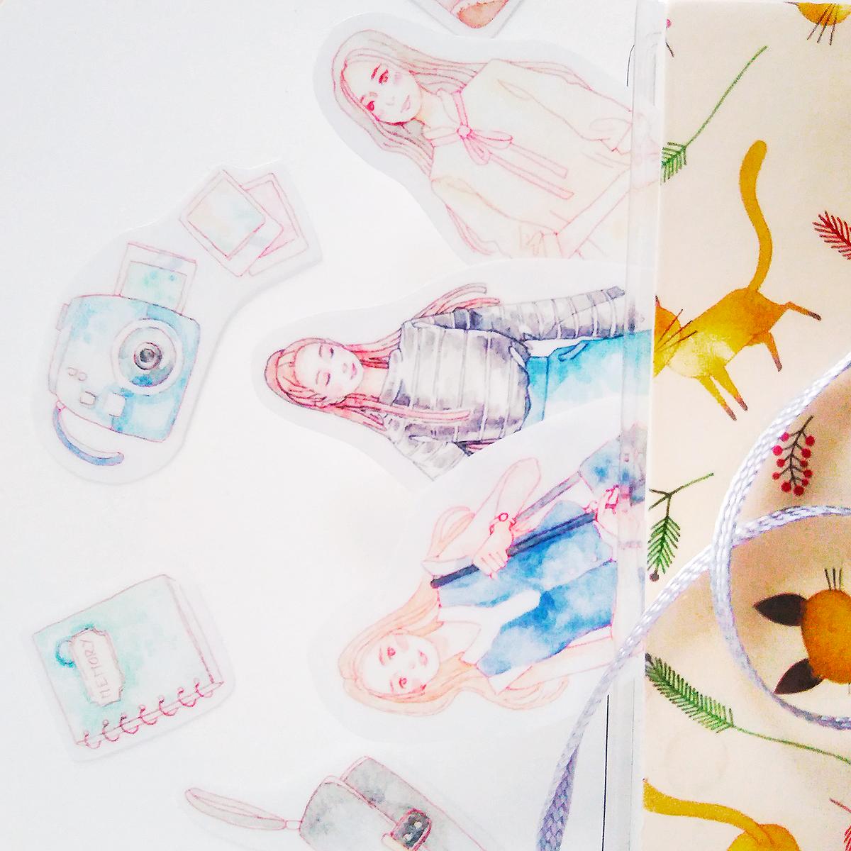 Sneak peek for upcoming transparent stickers!
