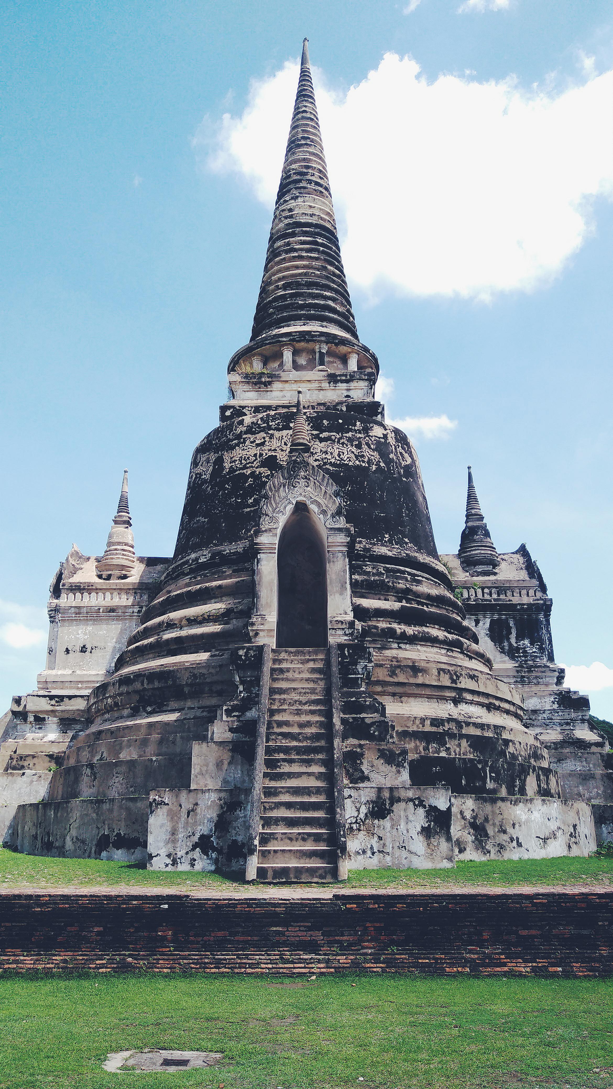 Temple Ruins of Ayutthaya, Thailand