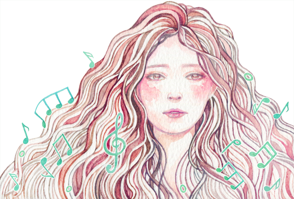 Developing my Artist Portfolio with a series of music album cover illustrations.  While it's important to go for variety and learning new techniques as an artist, it's just as important to go deep and develop skills and techniques you already have. This series of artworks for several Korean music releases was the perfect opportunity for me to grow as an artist, practice watercolor and portraits, and develop my freelance art portfolio.