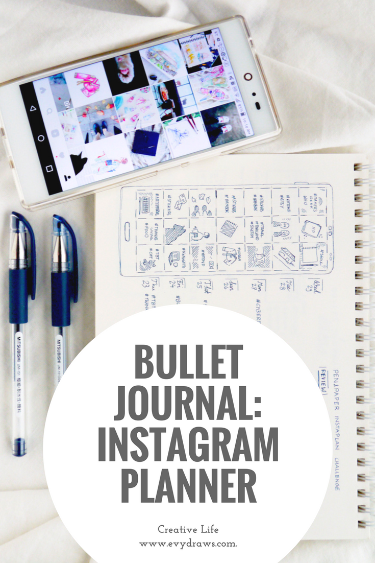 Instagram in my Bullet Journal: Cohesive Feed Planner & Tracker (+ Free Printable) Use a bullet journal or just my printable layout to plan, brainstorm and track your Instagram posts. Using pen and paper, and a minimalist bujo layout is so much more calming and inspiring than scheduling apps. While I just doodled my own Instagram Tracking spread, I made a free printable version for my readers, too.
