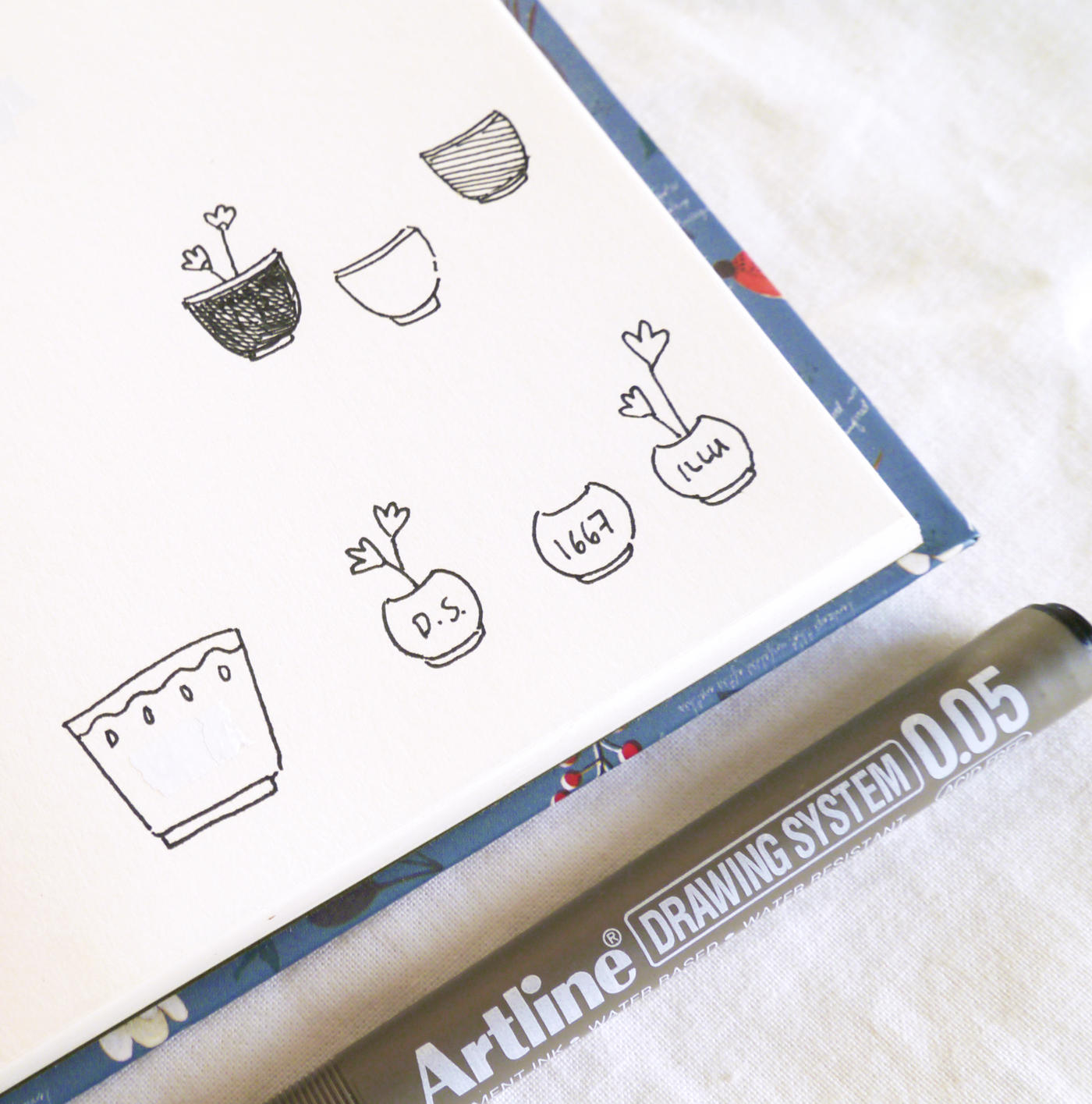 Discovering your Productivity Potential in a Bullet Journal - cute doodles to make productivity just a bit more fun and creative! I love how these little Pomodoro technique trackers aren't just cute, but also help me reflect on where exactly I spent most of my time, which tasks get done quickly, which ones take forever...