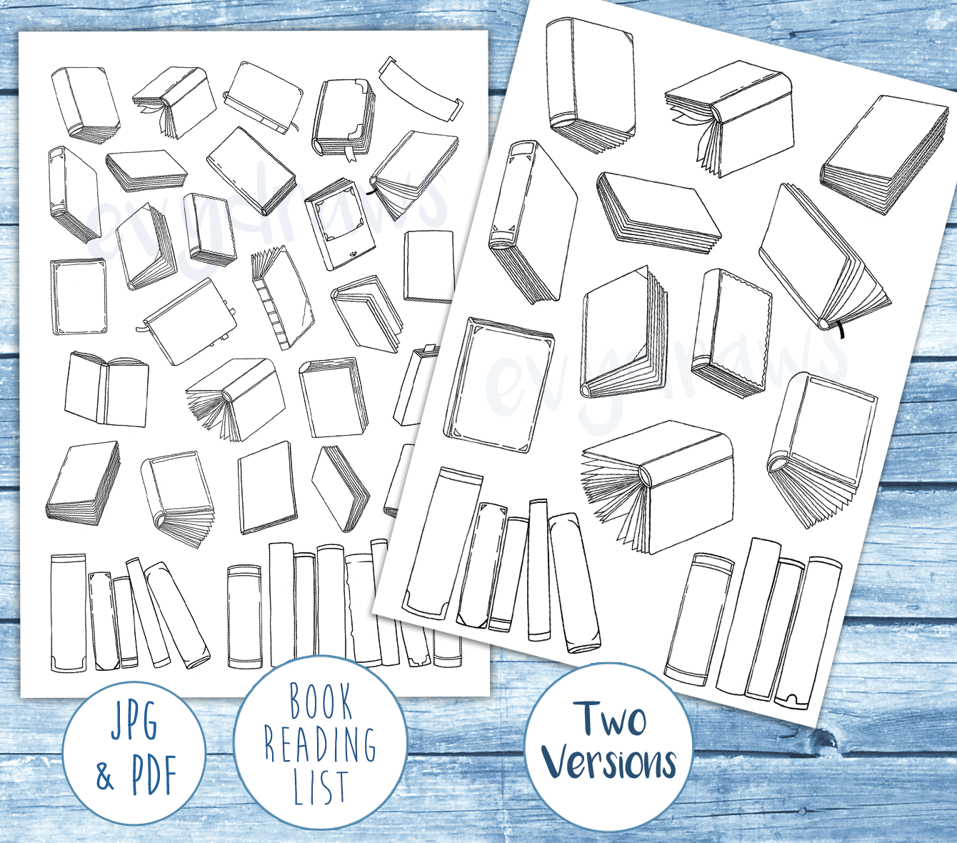 book-reading-tracker-printables-two-versions.PNG
