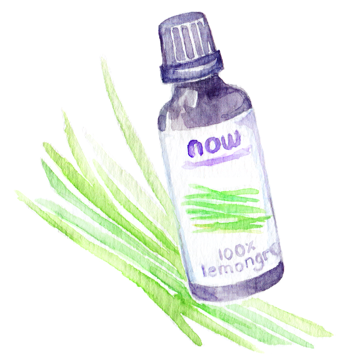 Favorite Thing for Working from Home: Lemongrass Essential Oil  Working from home means being stuck in the same environment all day long. In winter, this can get claustrophobic for me - I'm literally in the same ROOM all day because heating is a pain.  As a result, I like to keep our home clean, clutter-free and cozy!  Scents help so much with that: They can energize, calm, banish other scents and change the atmosphere of a room completely.  Recently, I started using more diffusers instead of scented candles (I went through those WAY too quickly!) and now have a humble little collection of essential oils. My favorite scent in January was  L emongrass! Not only did it remind me of  our trip to Thailand  and warmer months, but it went really well with the pervasive scent of oranges we were eating non-stop. A combination of a summer and winter scent, if you will!  Lemongrass oil is citrus-y but less sweet than other citrus oils, with earthy undertones that make it relaxing and refreshing at the same time. It also mixes very well with lavender oil - a favorite mix of mine for late evenings.
