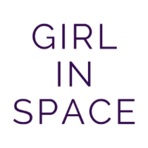 Girl In Space classic purple ink