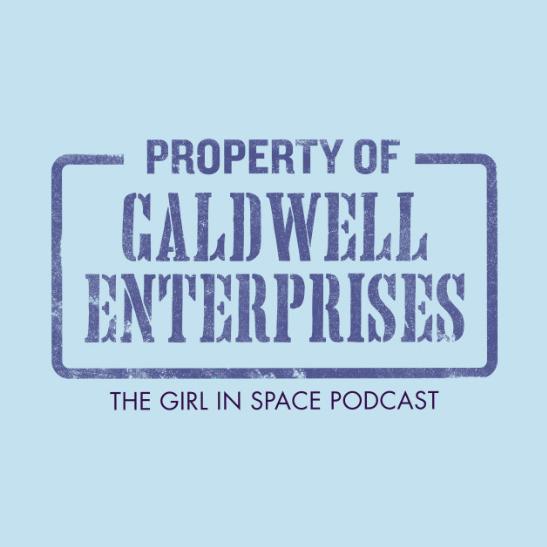 Property of Caldwell Enterprises - blue ink