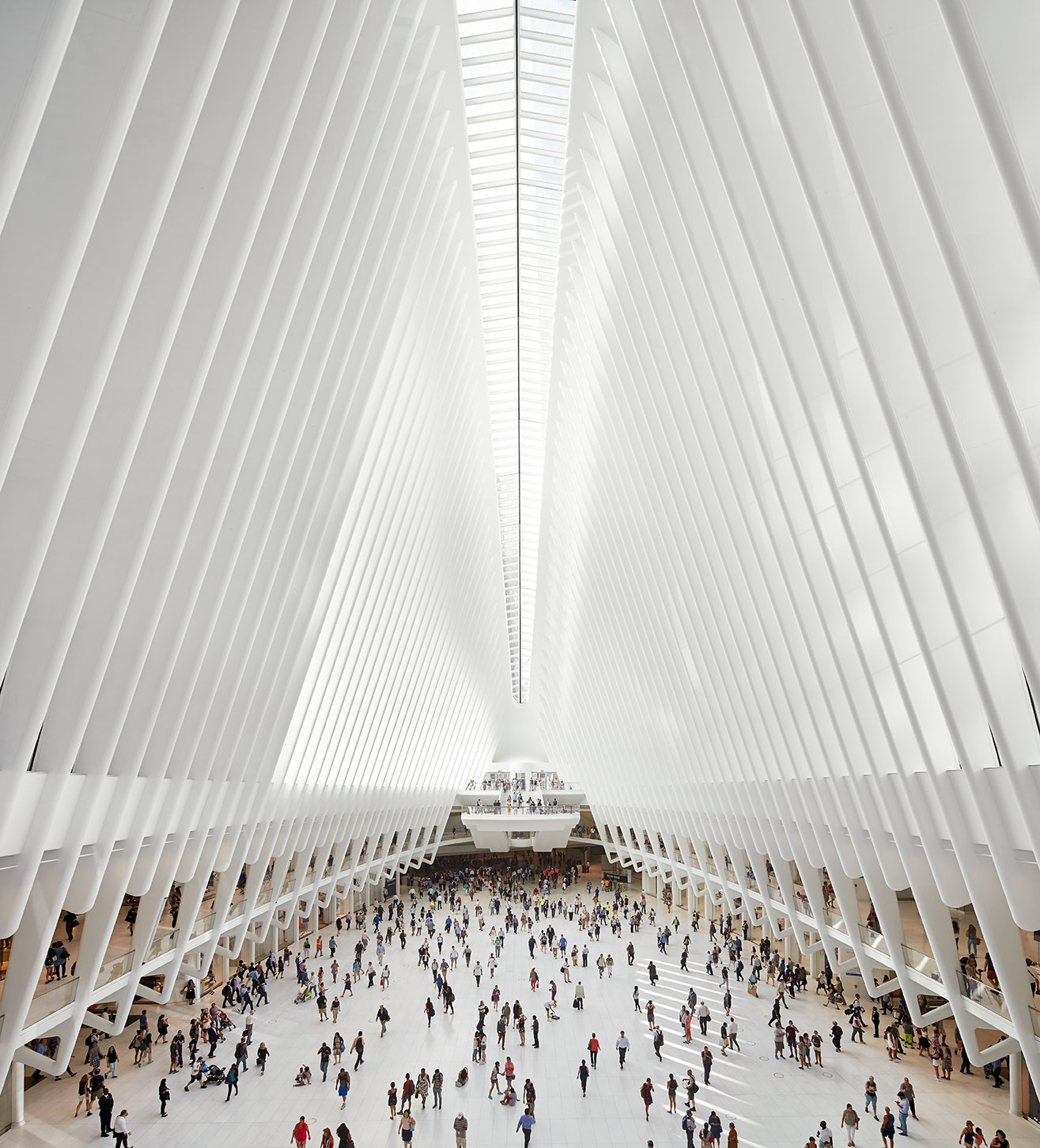 World Trade Center Transportation Hub.