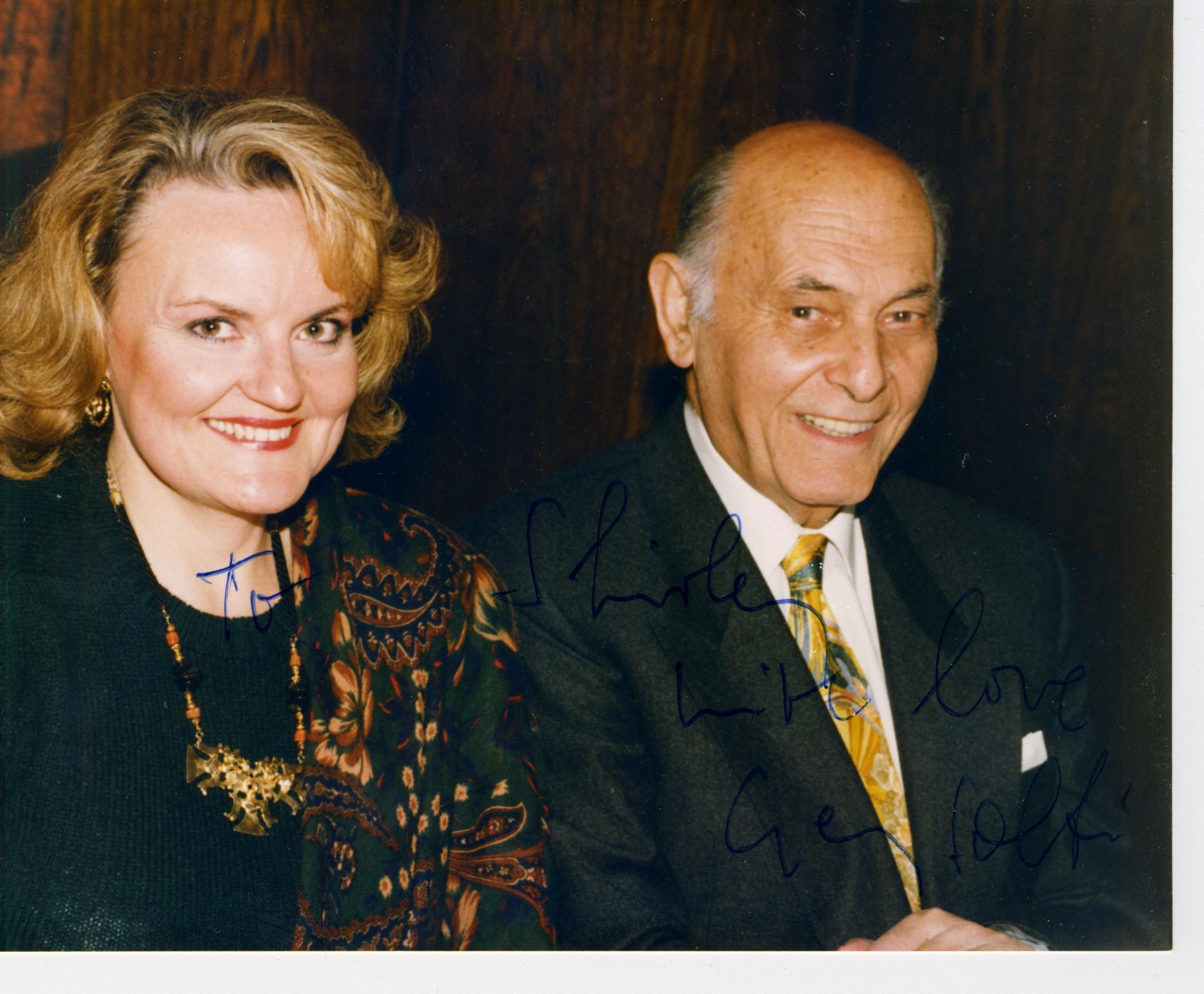 with Maestro Solti