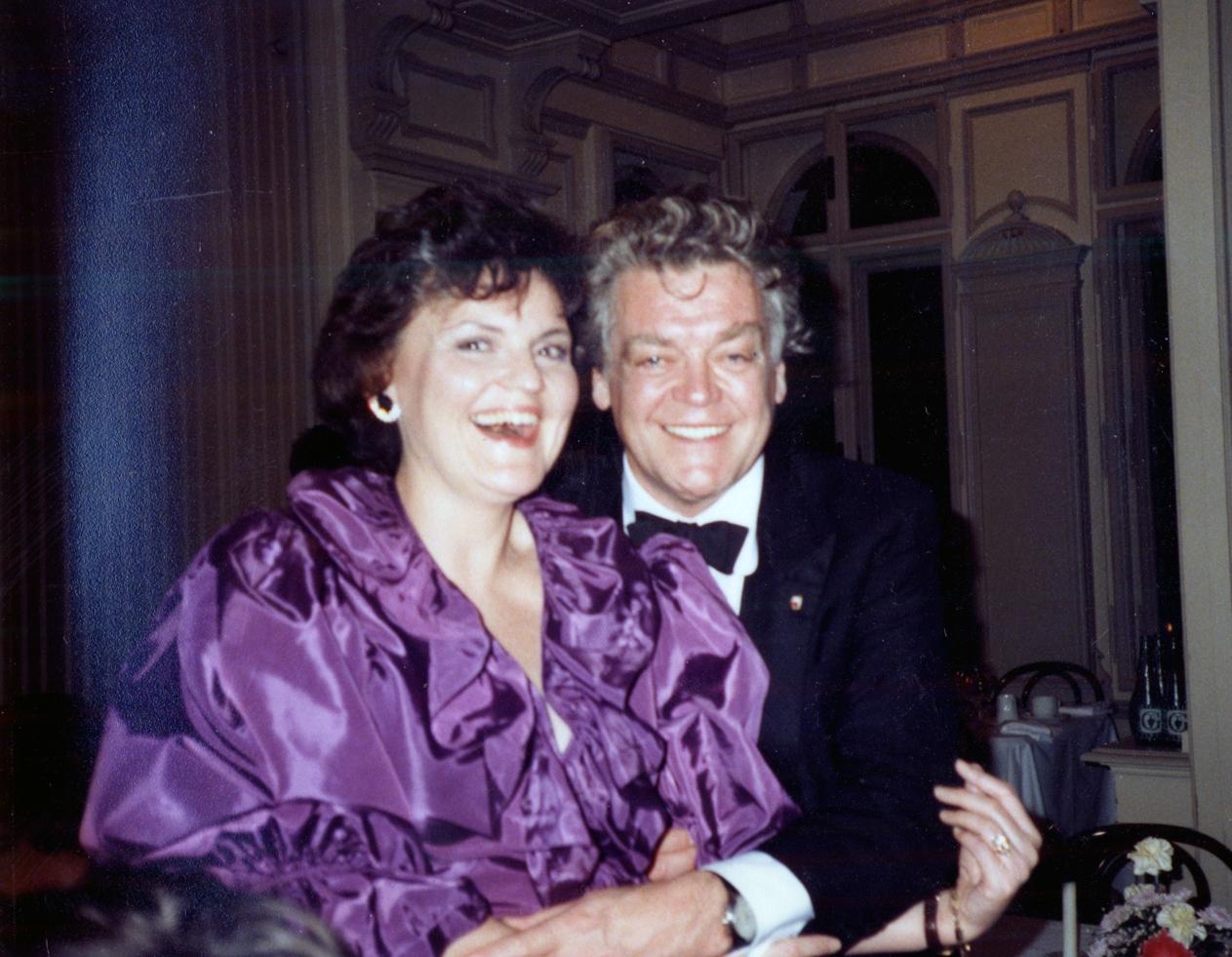 with Herman Prey in  Le Nozze di Figaro  in Salzburg