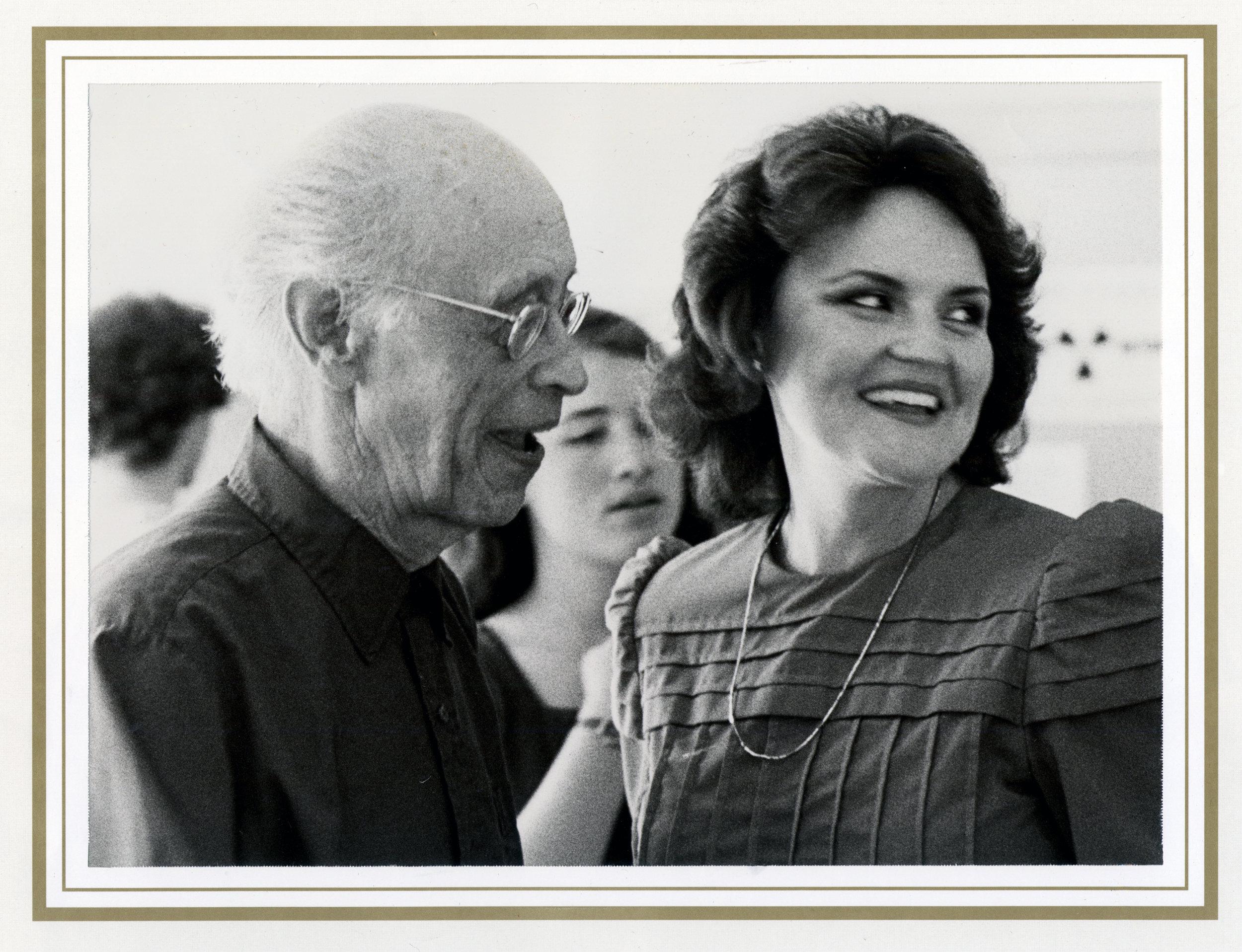 with Rudolf Serkin at Marlboro Chamber Music Festival