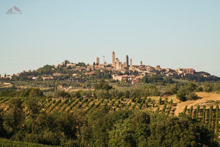 San Gimignano from our room