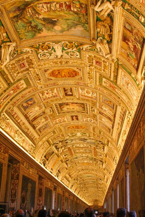 Vatican Ceiling Mural