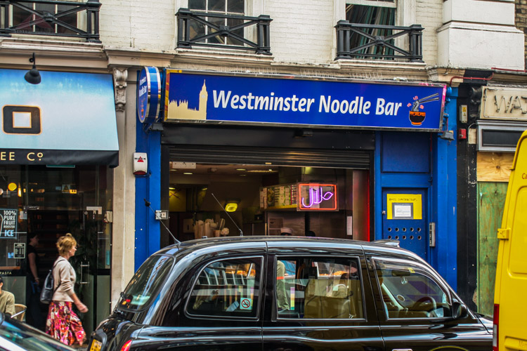 We have plenty of noodles in my Westminster