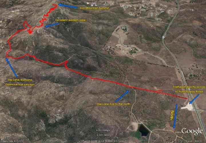 Iron Mountain Map Trail Master