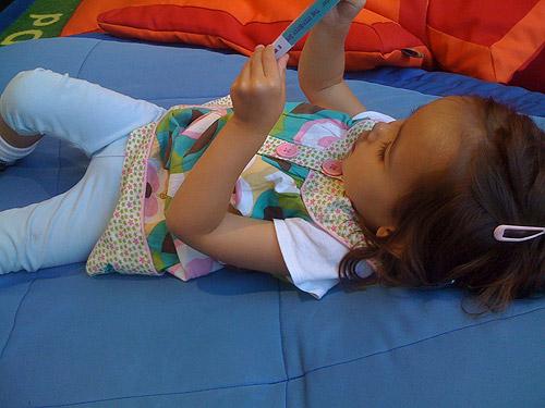 She likes reading