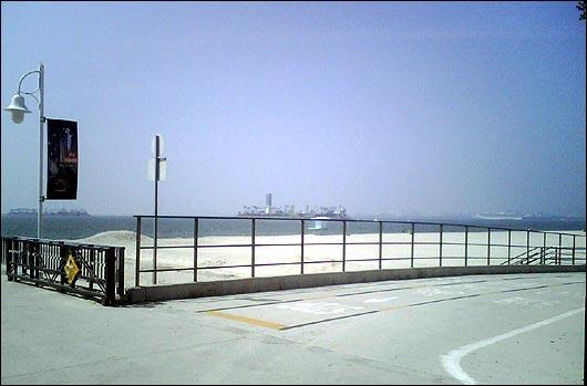 Near the Belmont Pier