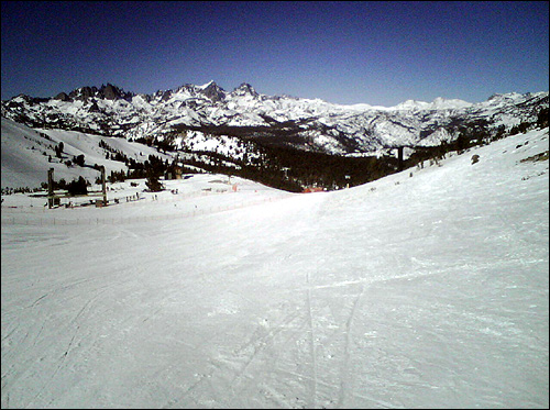 Had a great time on the open slopes of Mammoth Mountain