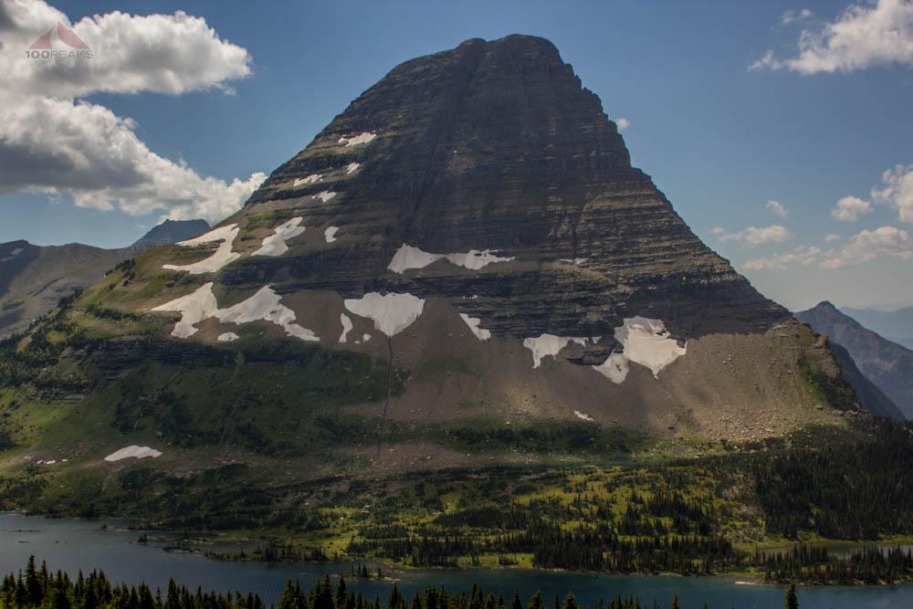 Bearhat Mountain at Hidden Lake