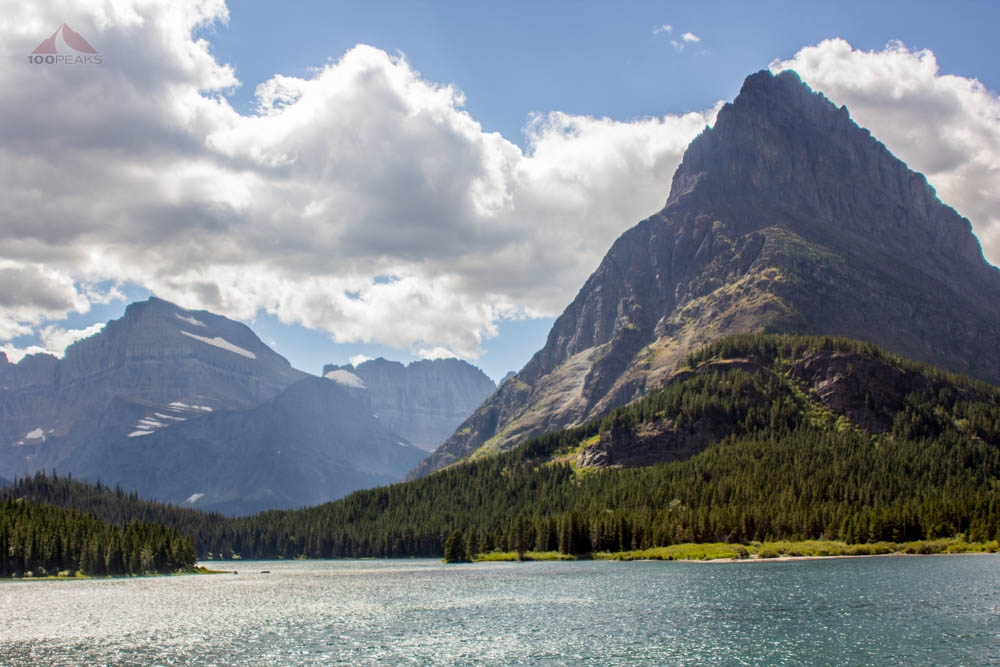 Mount Gould, Grinnell Point, Angel Wing and the Continental Divide