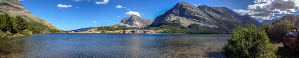Swiftcurrent Lake Panoramic