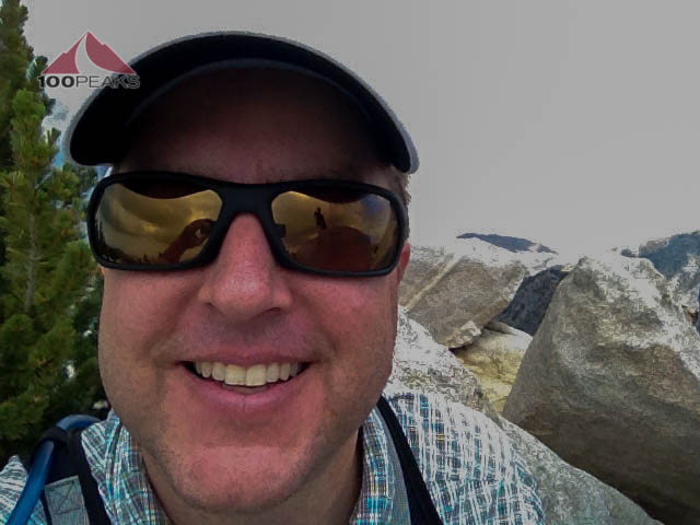 Me, Happy to be at the top of San Jacinto Peak