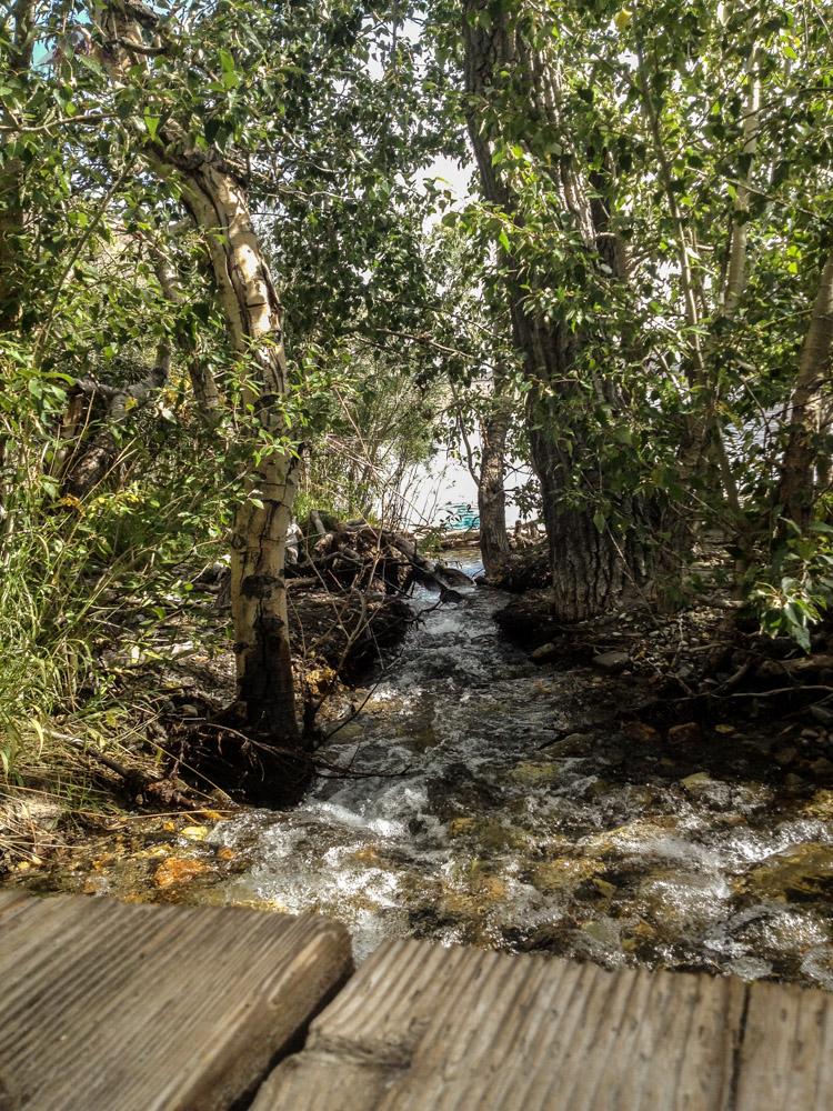 Convict Creek leading into Convict Lake