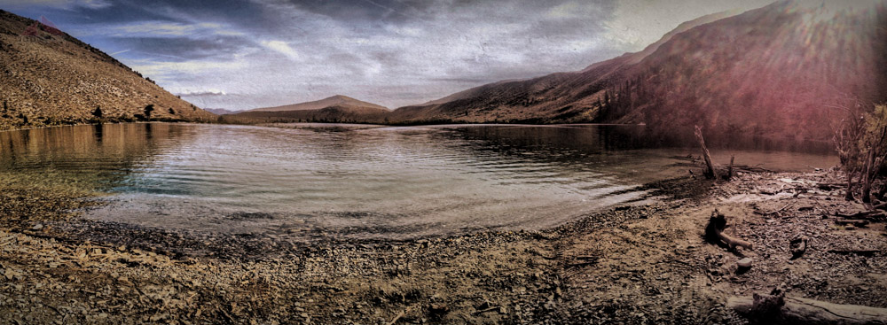 Convict Lake Panorama from the Southwest