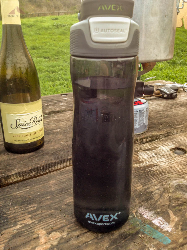 Avex Brazos in use while camping