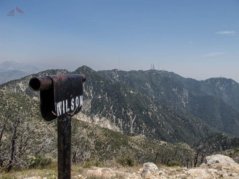 Mount Wilson from Mount Lowe