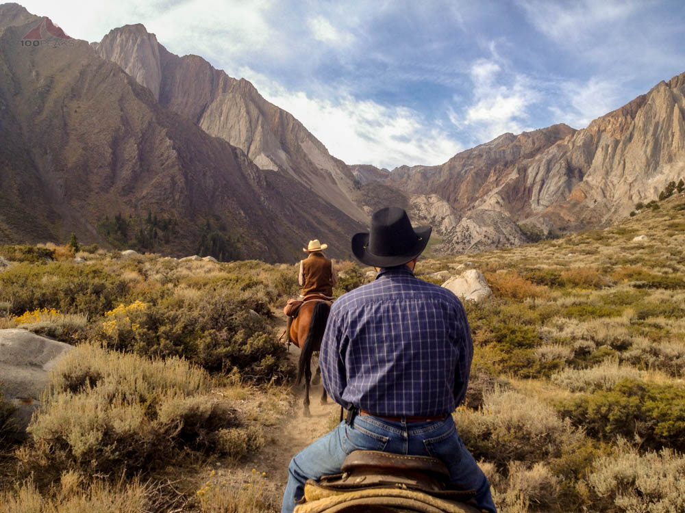 My father on horseback at Convict Lake 2012