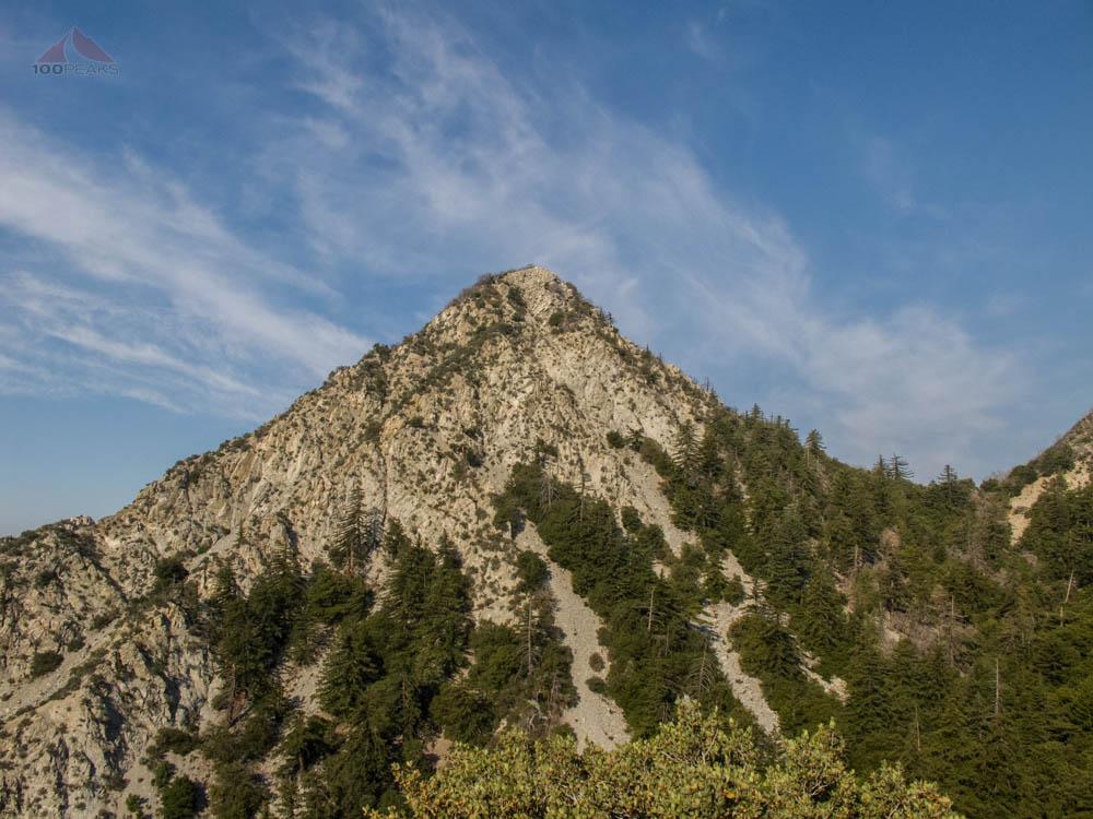 San Gabriel Peak from the trail