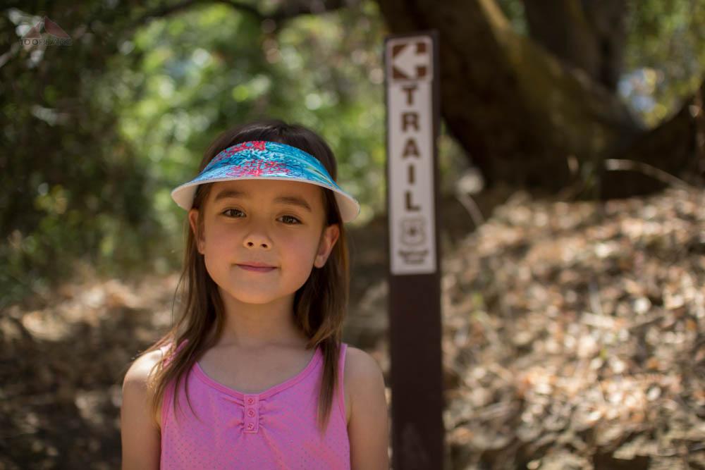 At the Wheeler Gorge Nature Trailhead